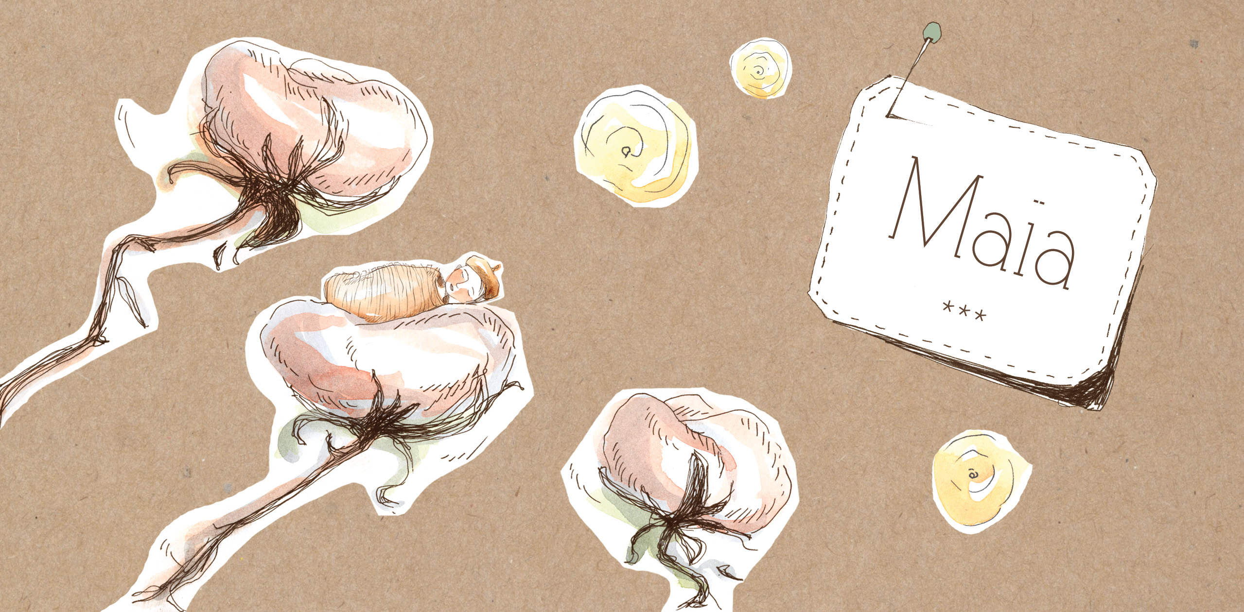 FairePart_naissance_Maia_Karo_Pauwels_illustration