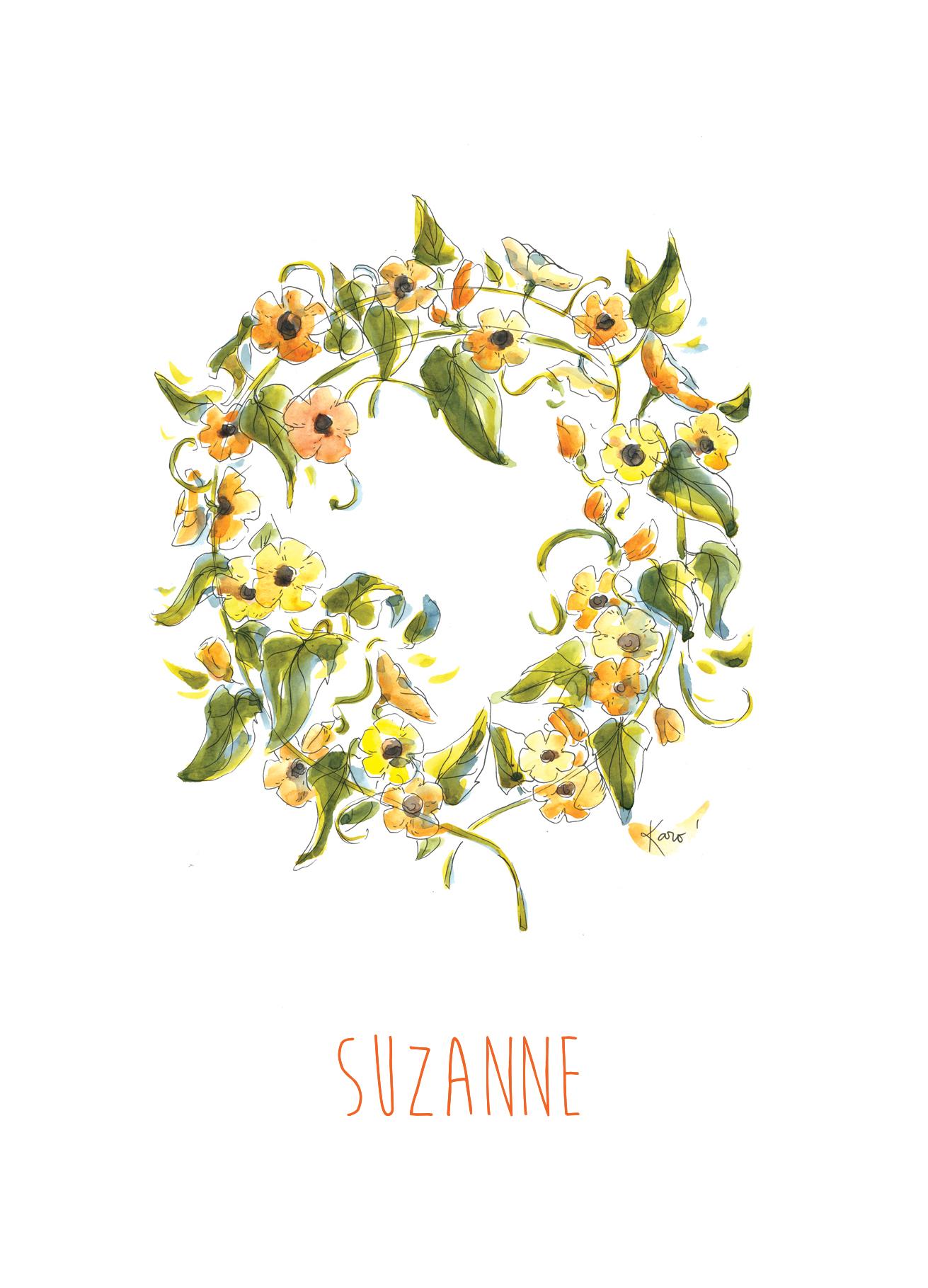 FairePart_naissance_Suzanne_KaroPauwels_illustration