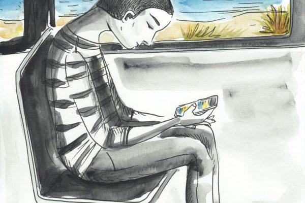 cyberaddiction1_karopauwels_illustration