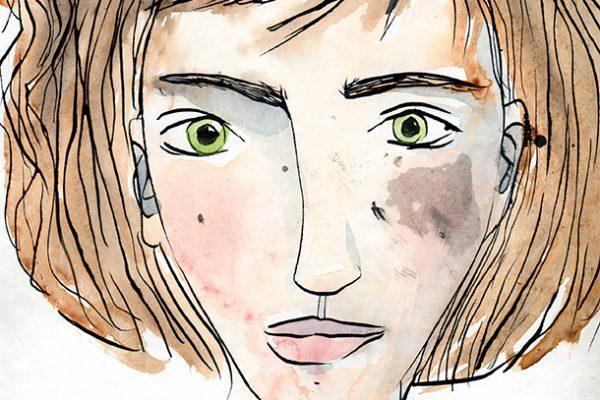 karo_pauwels_illustration_autoportrait